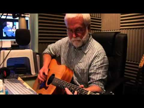 Sonny Miller - Playing slidey stuff (he said it) live on the Classic Gold show on TD1 Radio