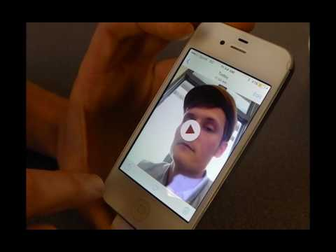 How To Take Your Selfie Video On An Iphone By Ram Youtube
