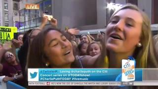 Charlie Puth We Don't Talk Anymore (feat. Selena Gomez) Today Show June 17, 2016