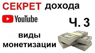 Монетизация Youtube 2019/ Заработок на маленьких каналах ютуб