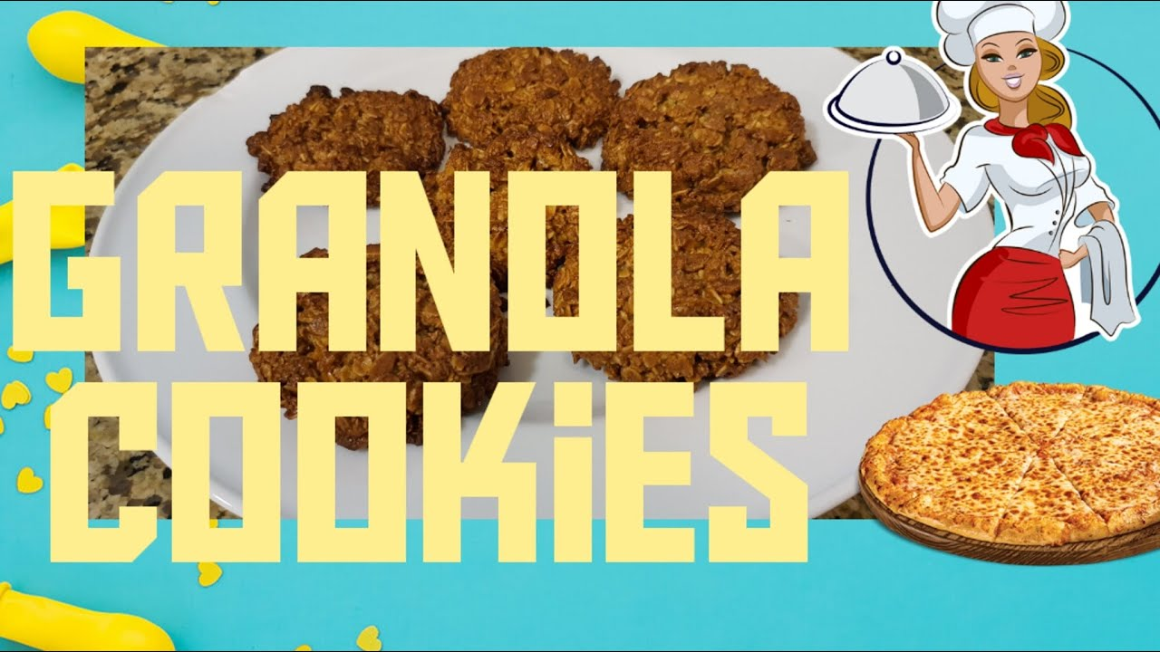 How To Make Granola Cookies Out of Scratch/Simple Steps ...
