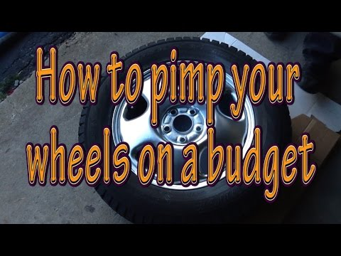 How to pimp steel rims on the cheap and fast