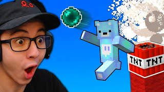 The BEST Minecraft TNT Jump Ender Pearl Clutch EVER...
