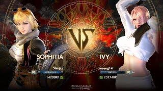 Gambar cover Soulcalibur VI - Shinji.jr (SOPHITIA) vs maeng14 (IVY) Rank