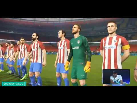 PES 2018 | FC Barcelona vs Atletico Madrid | Full Match Gameplay (PS4/XBOX ONE/PC)