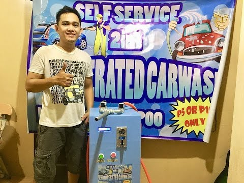self service coin operated carwash 2in1 | water and shampoo