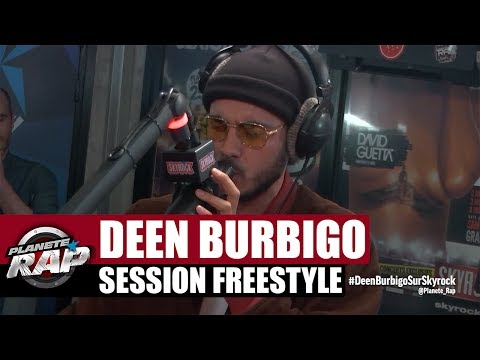 Session freestyle de Deen Burbigo & le collectif Eddie Hyde #PlanèteRap