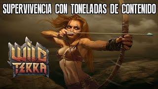 "WILD TERRA ONLINE ""SUPERVIVENCIA ONLINE CON MUCHO CONTENIDO!"" | GAMEPLAY ESPAÑOL"