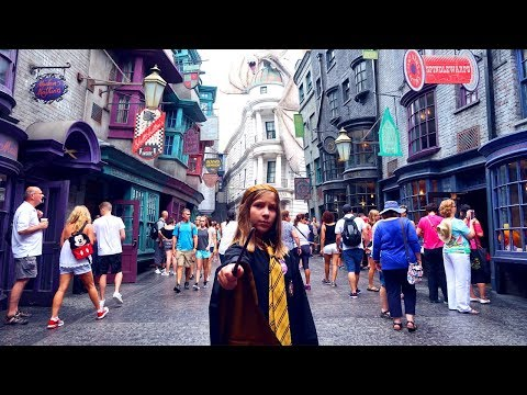 FIRST Wizarding World Of Harry Potter Experience   Wand Choosing   House Robe   Hogwarts