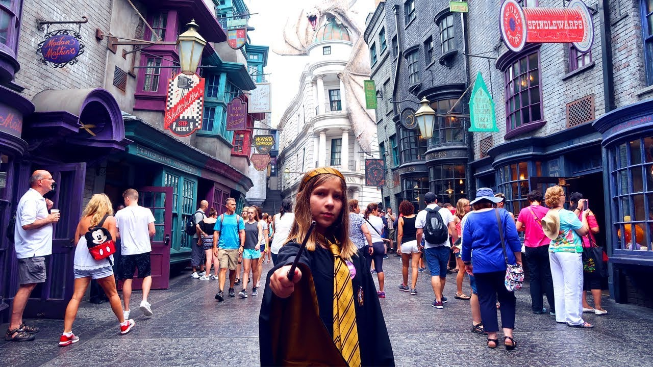 FIRST Wizarding World of Harry Potter Experience | Wand ...
