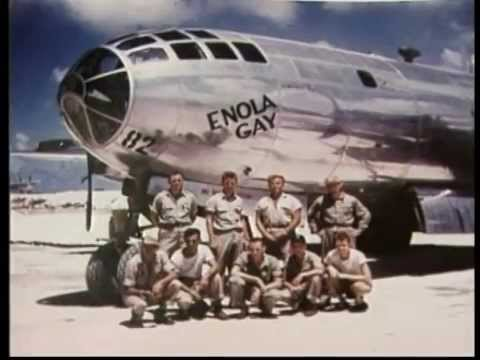 Enola Gay and Bockscar Drop the First Nuclear Warheads on Japan