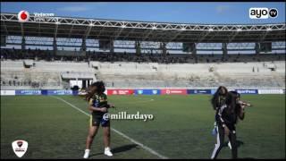 Vanessa Mdee kwenye uzinduzi wa SportPesa Super Cup June 5 2017