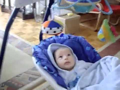 Fisher-Price Aquarium Cradle Swing And My Baby