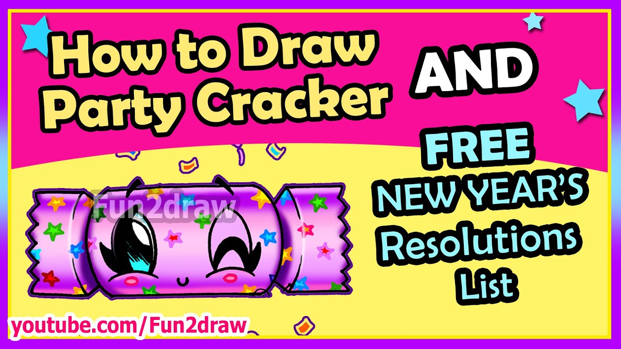 easy things to draw new years party hat mei yu s new year s resolutions online drawing courses youtube easy things to draw new years party