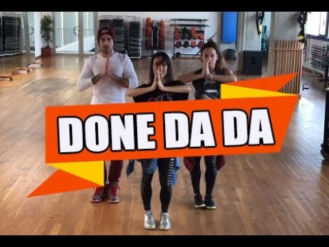DONE DA DA - Massari ( Krajno Balkan remix ) - ZUMBA con ALBA DURAN