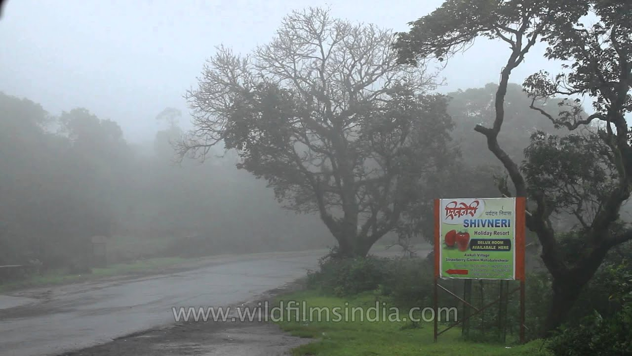 Panchgani during rainy season. Image Courtesy: Youtube/wildfilmsindia.com