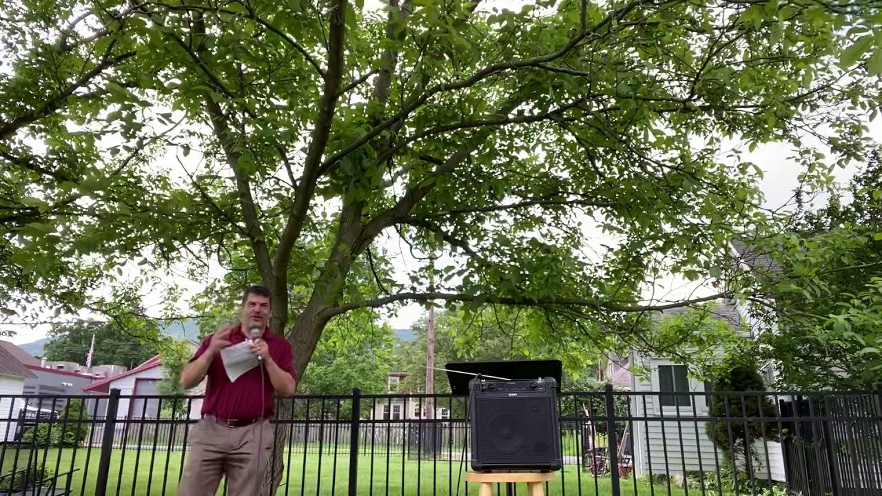 Outdoor Worship 6-21-20