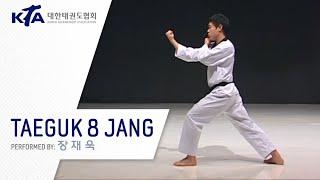 Taeguk 8 Jang (Jang Jae-wook, KTA Korea Taekwondo Association)