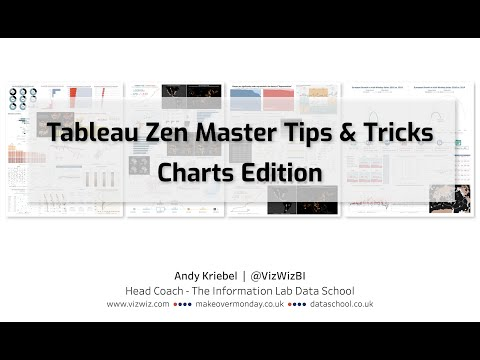 Tableau Zen Master Tips & Tricks - Charts Edition