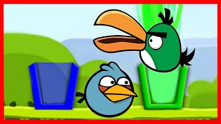 Angry Birds Drink Water Birds Flash Game Walkthrough All Levels 1-20