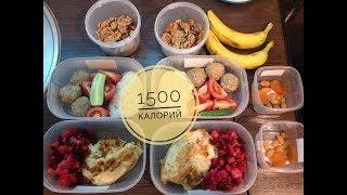 Еда на два дня 1500 ккал