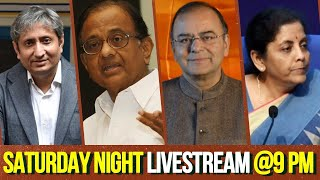 Jaitley / Chidambaram / Ravish / Nirmala + YOUR QUESTIONS on SNL with The Deshbhakt