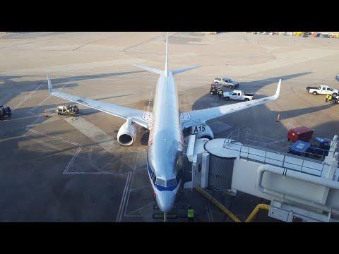 American Airlines Boeing 737-800 | Detroit (DTW) - Dallas (DFW)