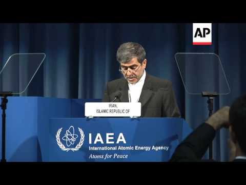 Iranian nuclear chief harshly criticizes atomic agency