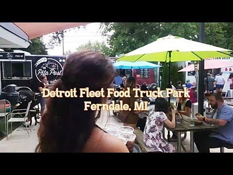 Detroit Fleat Food Truck Park, Ferndale, MI., Documentary