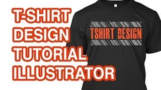 How to design a t shirt in illustrator for How to design a shirt in illustrator