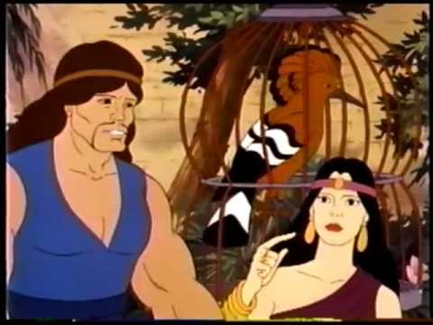 Stories from the Bible - Samson and Delilah - YouTube