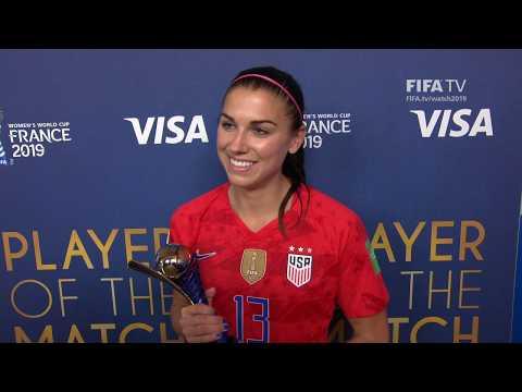 Alex Morgan – Player of the Match – USA v Thailand