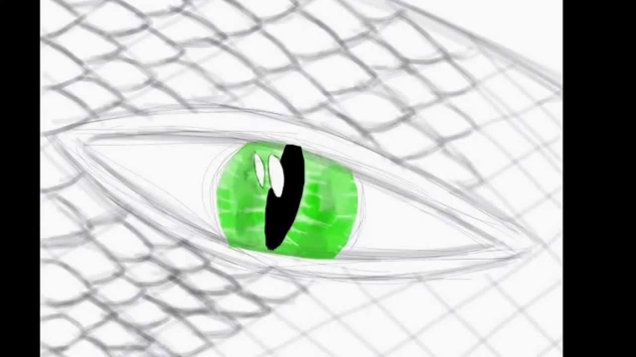 Drawing Snake Eyes