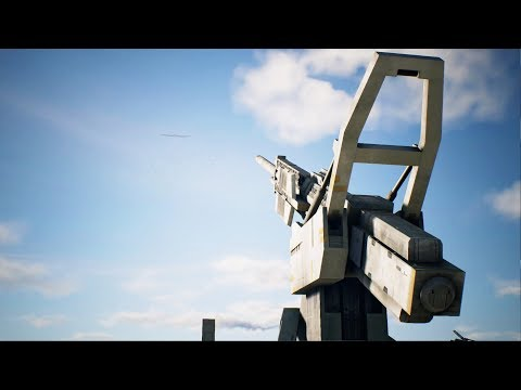 BIGGEST SUPER WEAPON CANNON DEFENSE | Ace Combat 7 Skies Unknown | PS4 | Mission #12 A-10 Gameplay