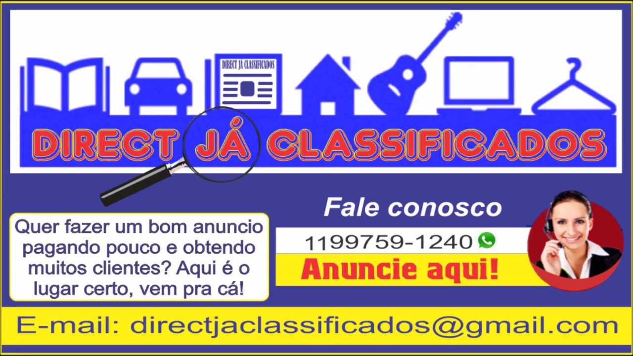 4d9d0883c5 Direct Já Classificados - YouTube