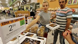 #159 Влог! Майамский Супермаркет! Нужно Много Баксов!