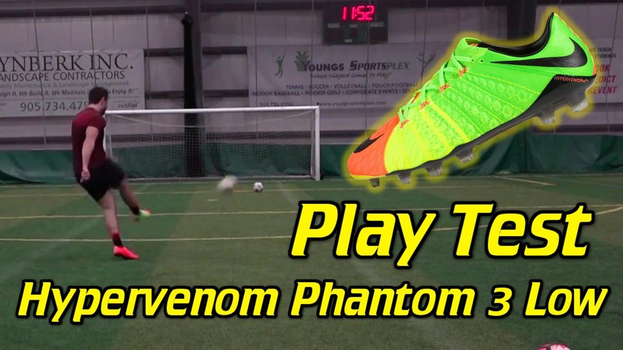los angeles ed266 cf200 Nike Hypervenom Phantom 3 Low-Cut Review - Play Test + Freekicks