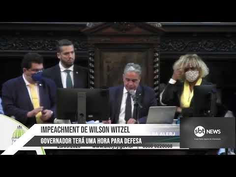 AO VIVO: Votação do impeachment de Wilson Witzel