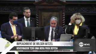 AO VIVO: Votação do impeachment de Wilson Witzel