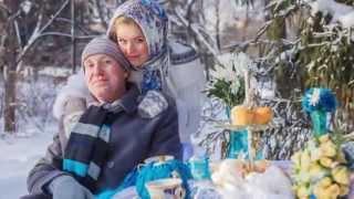 Зимняя свадебная фотосессия- самые неповторимые кадры! Сказка!