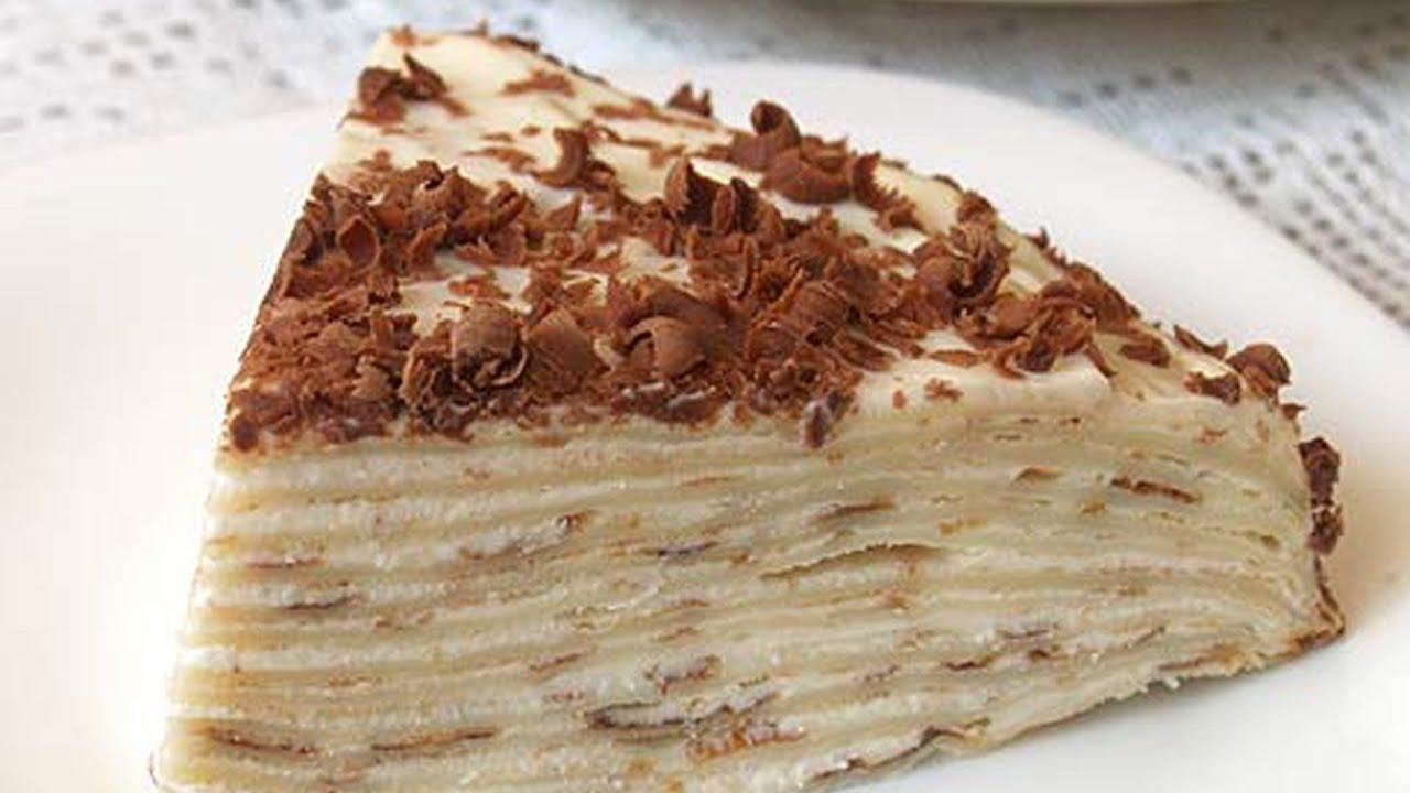 как приготовить сладкий блинный торт