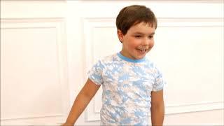 2830617 Пижама футболка, брюки с динозаврами SLEEPY CHILD для мальчика