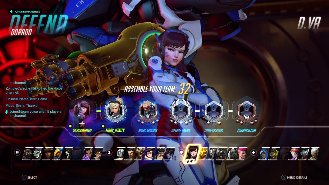 (Alt Acc) Overwatch S8 Comp Placements