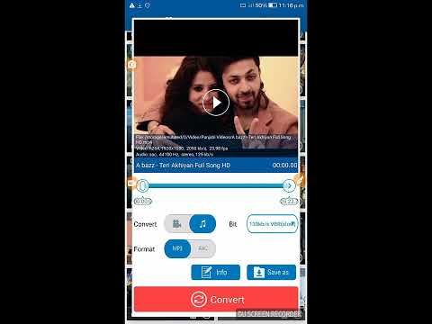 Video To MP3 Converter In Android Mobile