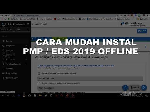 CARA MUDAH INSTALL PMP / EDS 2019