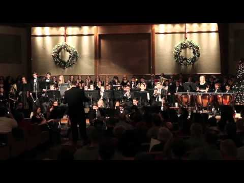 Auburn Adventist Academy Wind Ensemble - All the Bells on Earth Shall Ring