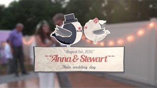Anna & Stewart Short Wedding Film, Rison, AR