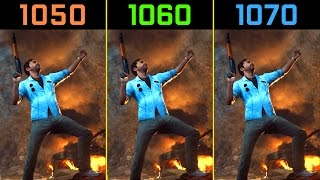 Just Cause 3 GTX 1050 Ti vs. GTX 1060 vs. GTX 1070 [1080p]