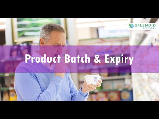 Product Batch & Expiry