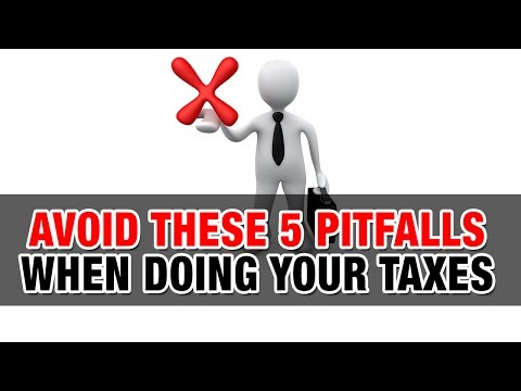 Avoid these 5 pitfalls when doing your taxes - Tax Tip Weekly